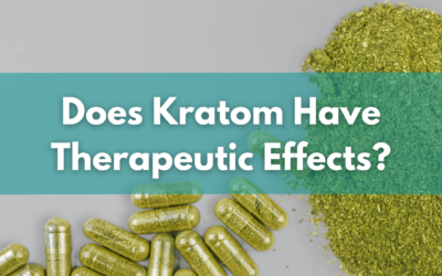 Kratom Have Therapeutic Effects And Relatively Low Potential For Abuse Or Harm