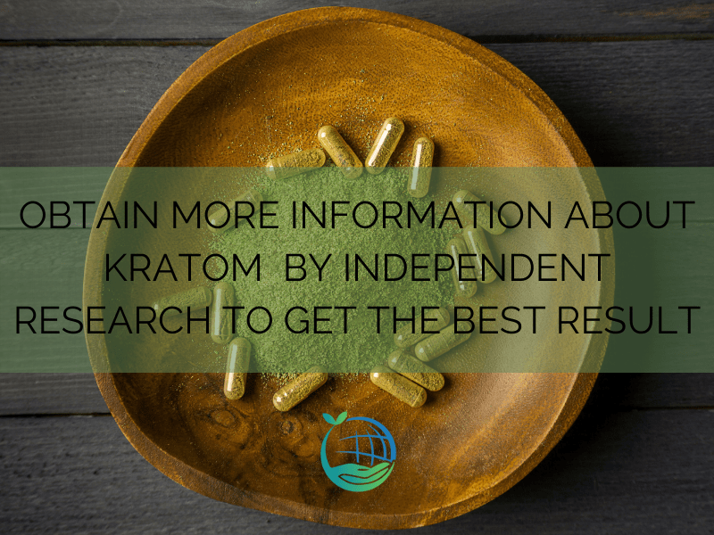 Information About Kratom By Independent Research